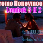 Hot Promo Honeymoon Lombok 2017
